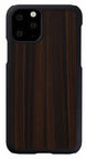 Man&Wood Ebony Back Case For Apple iPhone 11 Pro Black