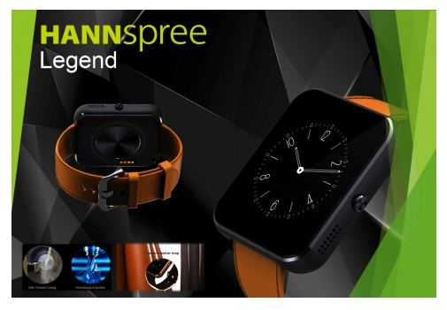 870e7b172 HANNspree Legend Smartwatch Classic, smart and functional! HANNSLegend is a  traditionally designed wristwatch with added smart functionality and a  large ...