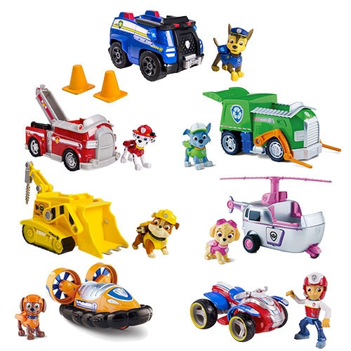 Spin Master Paw Patrol Vehicle With Pup Assortment 6022627
