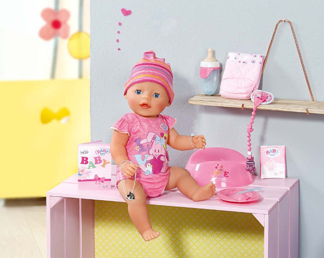 cf0adcaeb67 BABY born® is sooo cute! Only just born, and already this little sunbeam is  melting hearts here, there and everywhere. Her nine features, none of which  ...