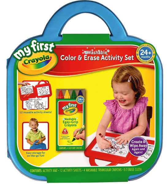 Crayola My First Washable Dry Erase Activity Mat