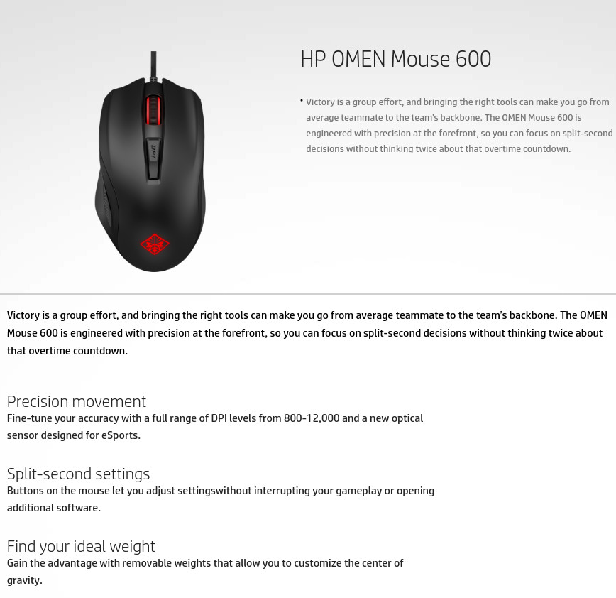 Hp Omen 600 Mouse Software