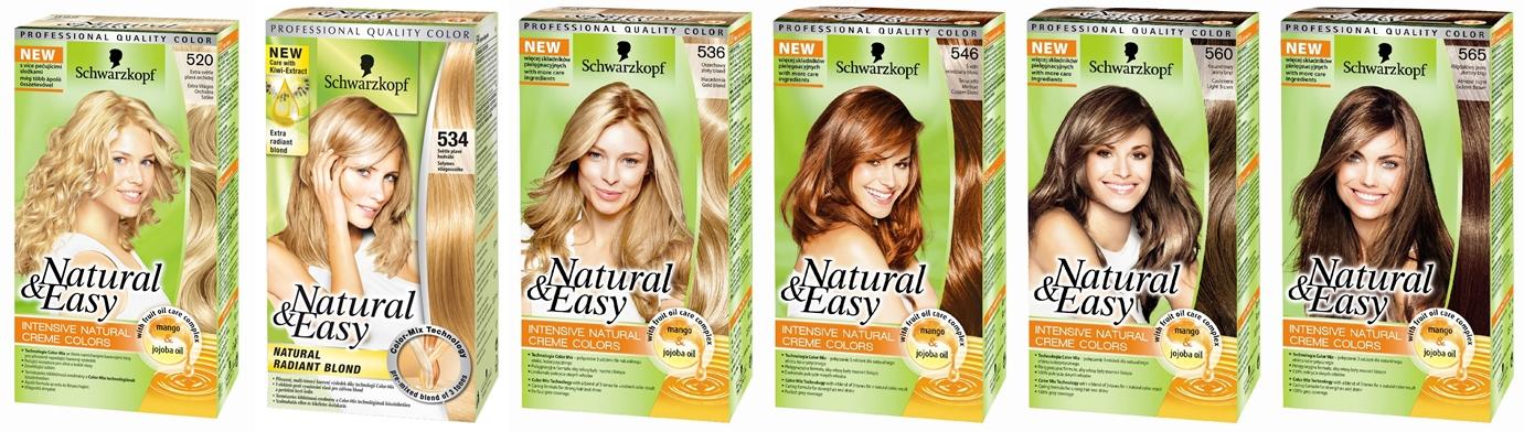 Schwarzkopf Natural Easy Hair Colo 542 Opal Medium Ash Blond