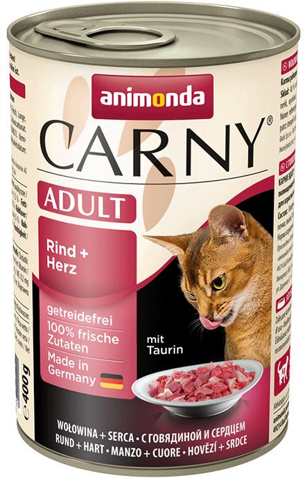 animonda carny adult beef heart 400g konservid kassidele kassidele loomatarbed. Black Bedroom Furniture Sets. Home Design Ideas