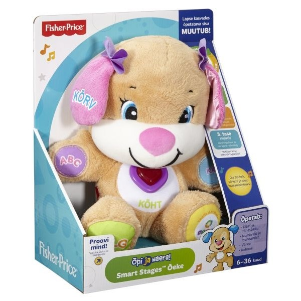 397bcf6111d Baby's favorite puppy, Sis, with new Smart Stages™ learning fun!