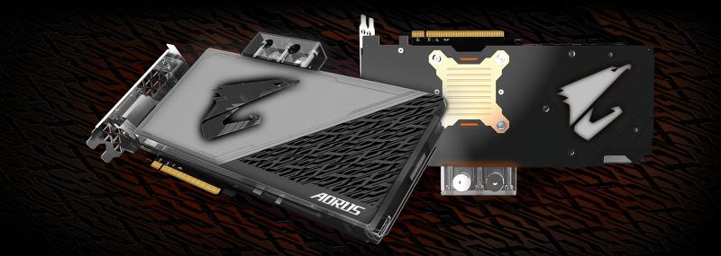 Gigabyte AORUS GeForce GTX 1080 Ti Waterforce WB Xtreme Edition 11GB GDDRX5  PCIE GV-N108TAORUSXWB-11GD