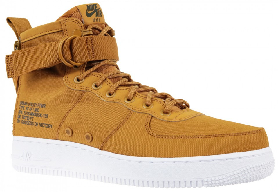Air 700 Sneakers Nike Sf 1 Brown Mid 917753 43Спортивная Force n0w8Nm