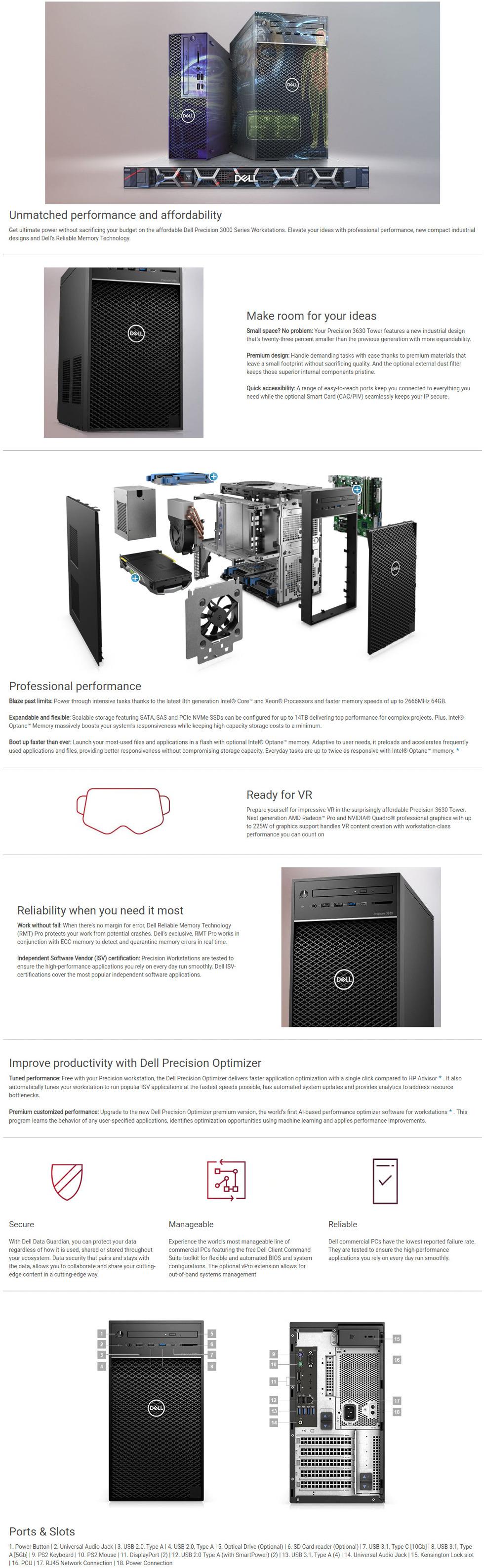 Dell Precision 3630 Tower N001P3630MTBTPCEE2_1
