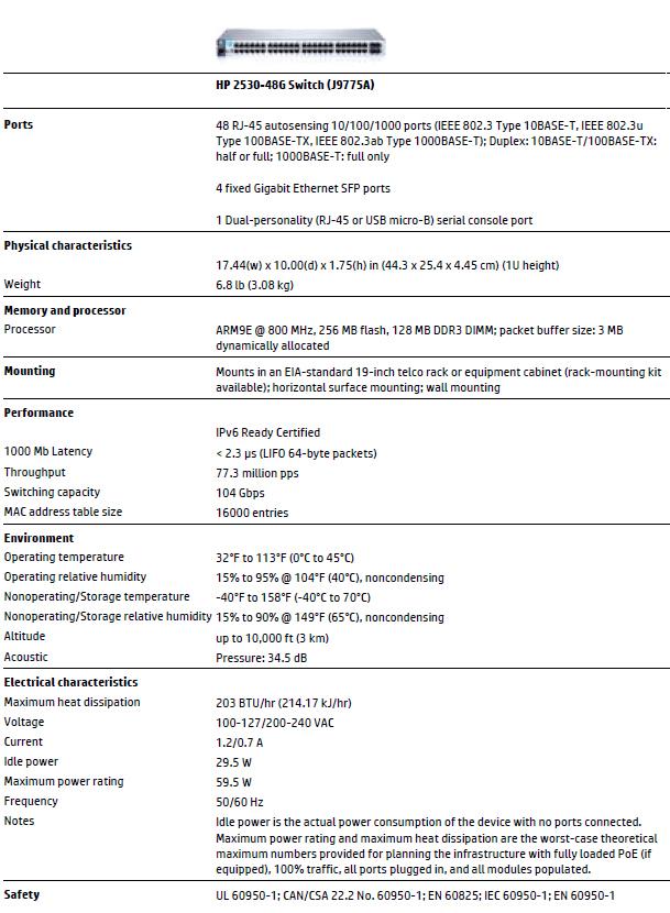Hp 2530 Trunk Port Configuration