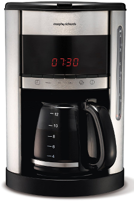 Morphy Richards Accents Brushed Filter Coffee Maker 162007 :: Kavos virimo aparatai :: Virtuv?s ...