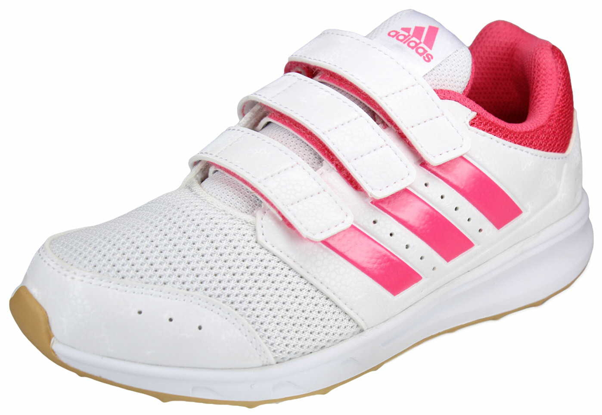 They'll run, jump and keep the game going strong with these lightweight and  durable kids' shoes. Structured 3-Stripes add extra support to the upper,  ...