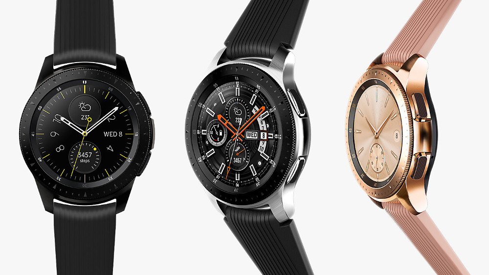 44a98a43d The features of a smartwatch and the natural feeling of an analog watch in  a single package. Galaxy Watch links you to the world around you.