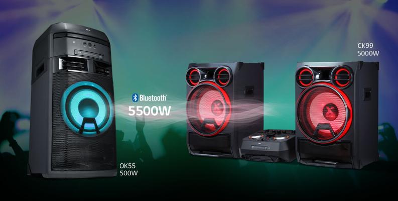 LG OK55 :: Mūzikas centri :: Audio aparatūra :: TV, audio, video